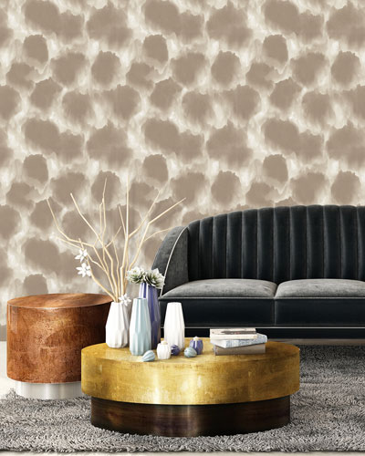 Shibori Clouds Removable Wallpaper