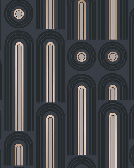 Wave Pop Removable Wallpaper