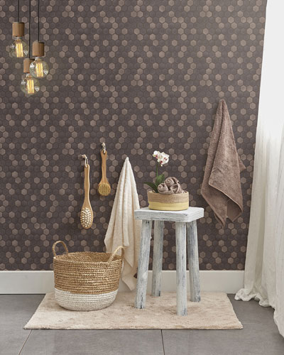 Hexagon Tile Removable Wallpaper