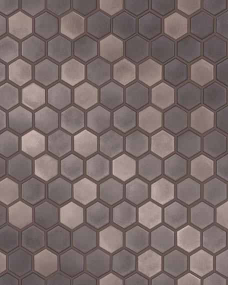 Hexagon Tile Removable Wallpaper