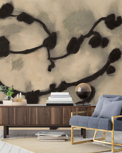 Dark Vines Removable Wallpaper Mural