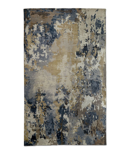 Leslie Hand-Knotted Rug, 9' x 12'