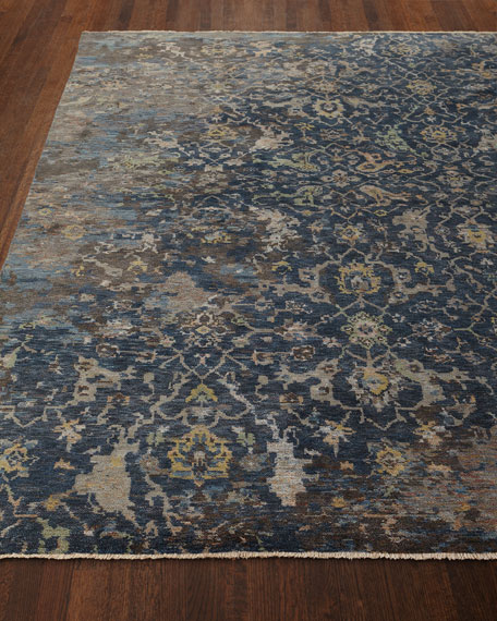Carlino Hand-Knotted Rug, 4' x 6'