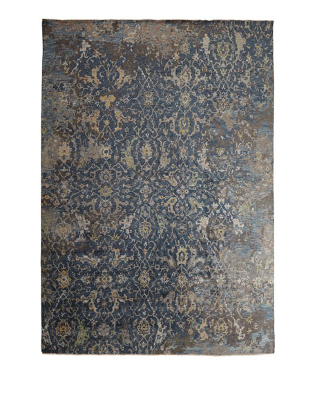 Carlino Hand-Knotted Rug, 6' x 9'