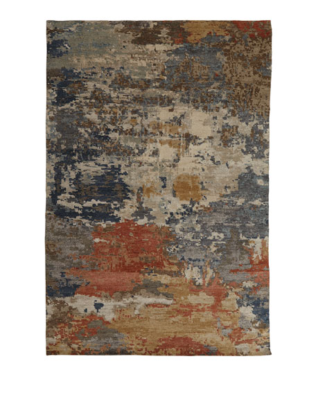 Beverly Hand-Knotted Runner, 2.6' x 10'