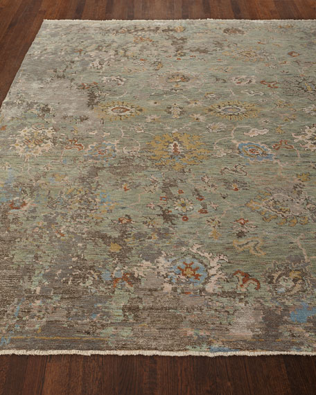Martyn Hand-Knotted Runner, 2.6' x 10'