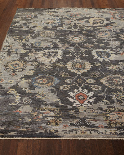 Trulee Hand-Knotted Runner  2.6' x 10'
