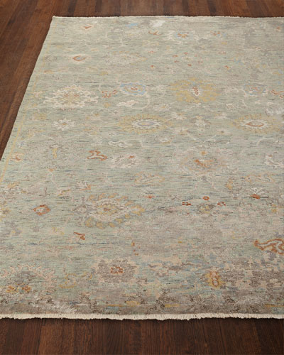 Martyn Hand-Knotted Rug  4' x 6'