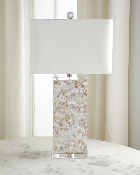 Naples Natural Shell Table Lamp