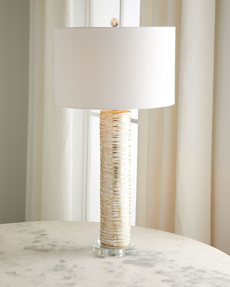Ceramic Birch Table Lamp