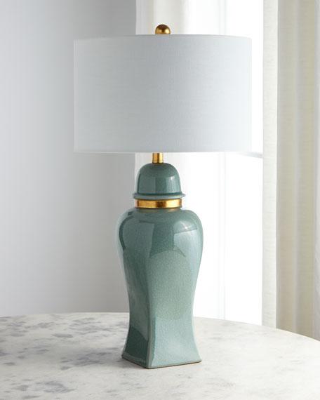 Jade Jar Table Lamp