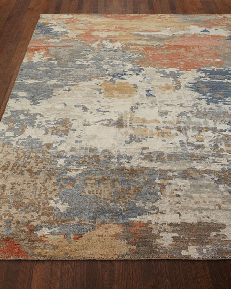 Beverly Hand-Knotted Rug, 6' x 9'
