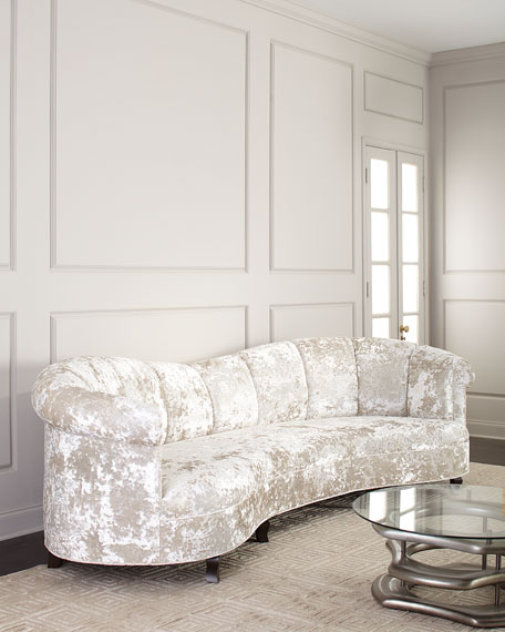Lizette Channel Tufted Sofa