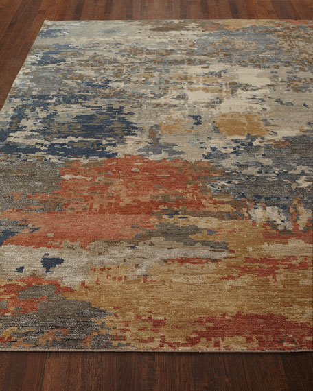 Beverly Hand-Knotted Rug, 4' x 6'