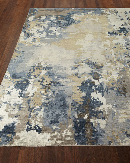 Leslie Hand-Knotted Rug, 4' x 6'