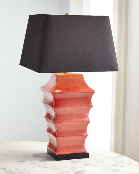 Pagoda Ceramic Table Lamp