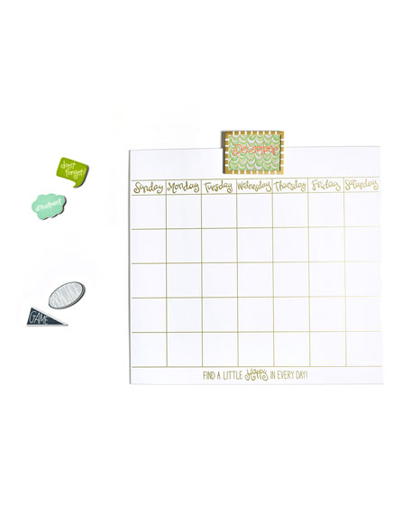 Magnetic Dry Erase Wall Calendar