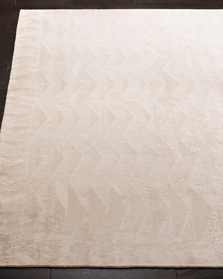 Bryce Canyon Hand-Knotted Rug, 6' x 9'