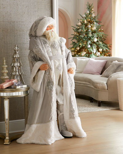 Life-Size Winter Wonderland Santa
