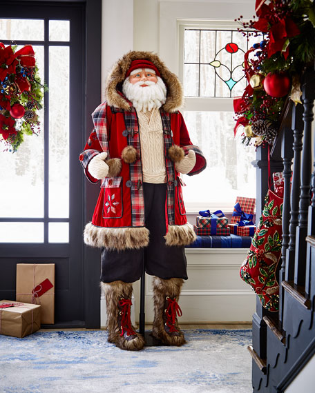Life-Size Santa Doll