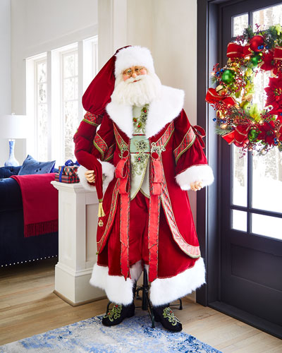 Life-Size Christmas Wishes Santa