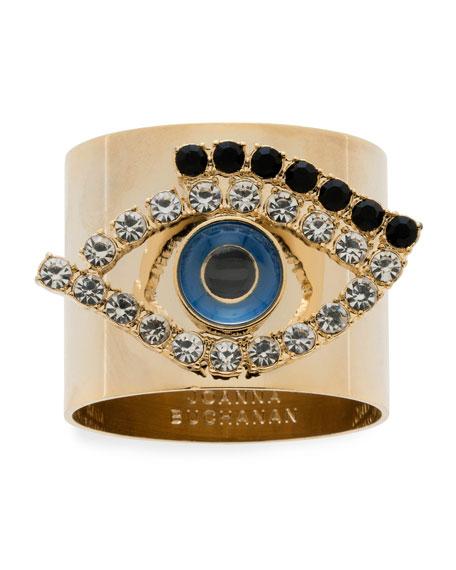 Joanna Buchanan Evil Eye Napkin Rings, Set of
