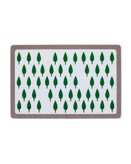 Tree Print Everyday Placemat