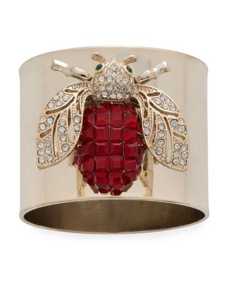 Joanna Buchanan Sparkle Bee Napkin Rings, Set of