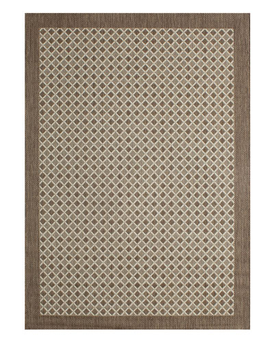 Silver Collection Outdoor Rug  5'3 x 7'4
