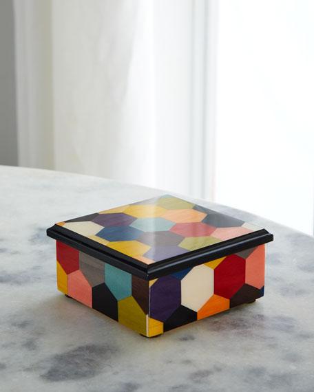 Inlaid Wood Box