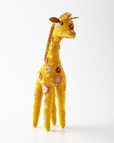 Anke Drechsel Yellow Beauty Giraffe Decor