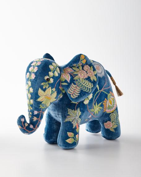Anke Drechsel Madame Bovary Riviera Blue Elephant Decor