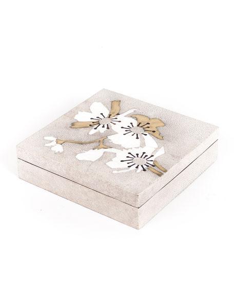 Medium Flower Square Box