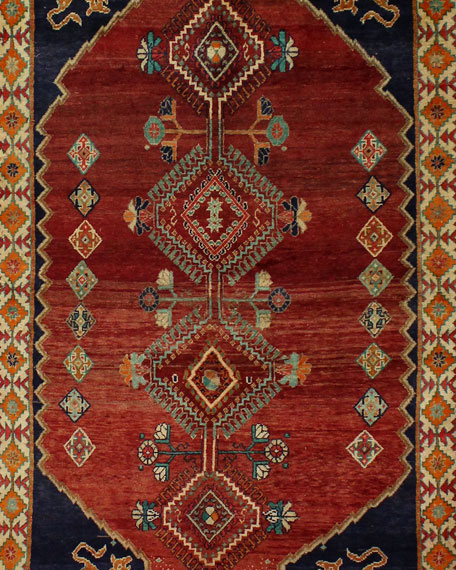 Cameron Hand-Knotted One of a Kind Rug, 4.8'
