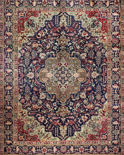 Catherine Hand-Knotted One of a Kind Rug  9.7' x 12.4'