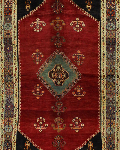 Dabney Hand-Knotted One of a Kind Rug  5.3' x 8.5'
