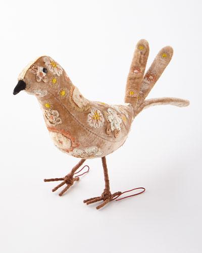 Standing Bird Beauty Decor
