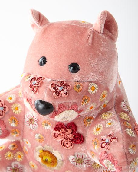 "Old Rose Teddy Beauty, 10"""