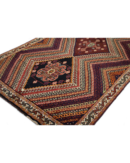 Willow Hand-Knotted One of a Kind Rug, 4.1' x 8.9'
