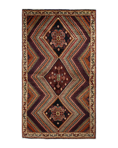 Willow Hand-Knotted One of a Kind Rug  4.1' x 8.9'