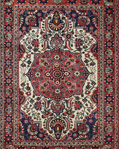 Beatrice Hand-Knotted One of a Kind Rug  4.7' x 6.8'
