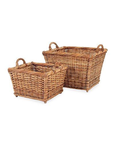 French Country Hearth Basket