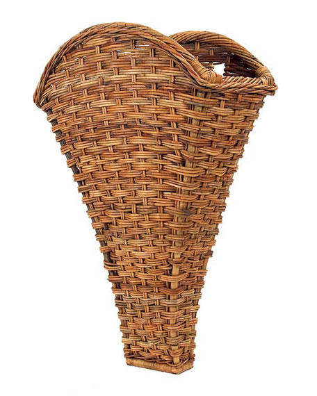 Mainly Baskets French Country Winery Wall Basket