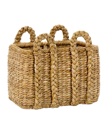 Mainly Baskets Rectangular Rush Basket