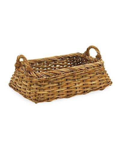 Cottage Linens Laundry Basket