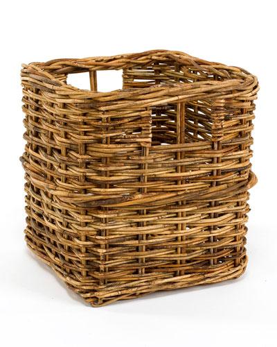 Cottage Storage Rattan Basket