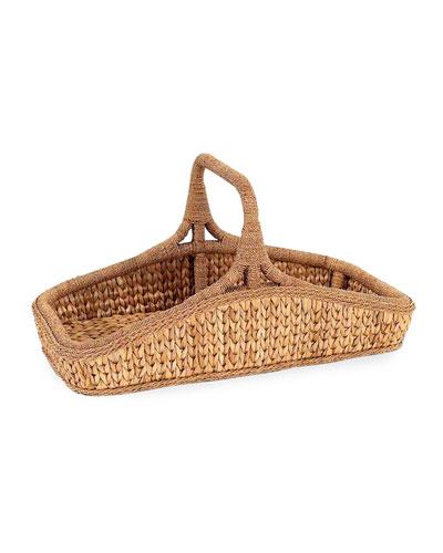 Sweater Weave Wildflower Basket