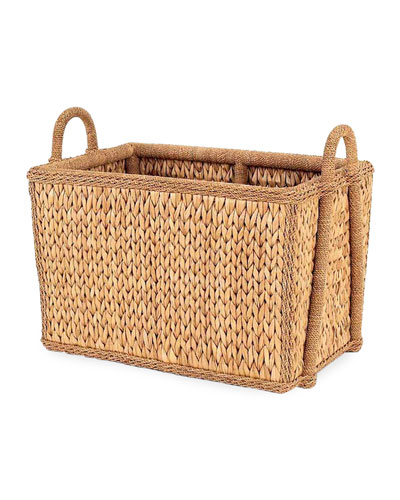 Sweater Weave Havana Mud Room Basket
