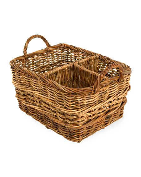 Cottage Organizer Basket