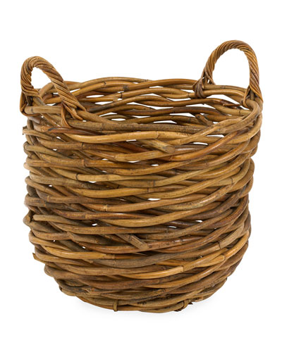 Cottage Kindling Basket